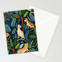 Jungle Cats Stationery Cards