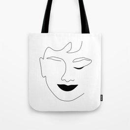 Happy Audrey Tote Bag