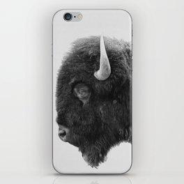 buffalo profile iPhone Skin