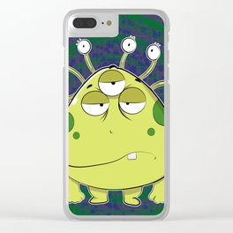 The Most Ugly Alien Ever Clear iPhone Case