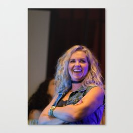 Briana Buckmaster at the Supernat-A-Looza Canvas Print
