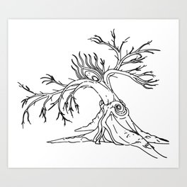 Consolation of Leaves Art Print