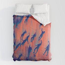 deep-water dream Comforters