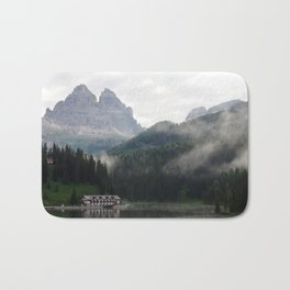 Greetings from the Dolomites Bath Mat