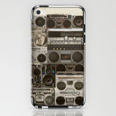 Wall Of Sound iPhone & iPod Skin