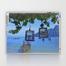 Bird Cages by the Sea Laptop & iPad Skin