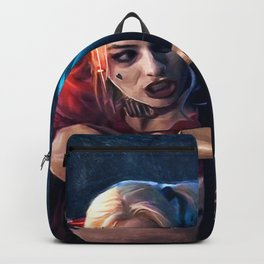 Harley Quinn - The Clown Princess Of Gotham With Her Goodnight Bat Backpack