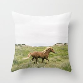 Wild Horses Couldn't Keep Me Away Throw Pillow