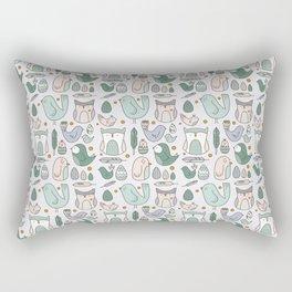 Little Birdies Rectangular Pillow