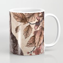 Tawny Owl Pink Coffee Mug