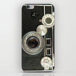 Vintage Range finder camera. iPhone Skin