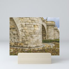 Segovia Bridge at Madrid, Spain Mini Art Print