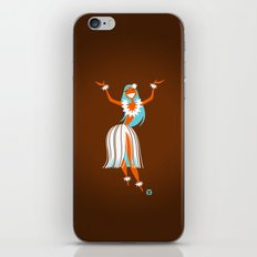 Hula Girl iPhone & iPod Skin
