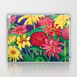 Zinnias Laptop & iPad Skin