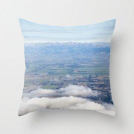 Canterbury Plains Throw Pillow