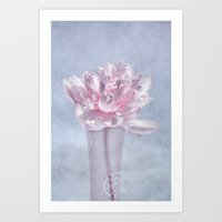 peony Art Prints featuring PEONY by INA FineArt