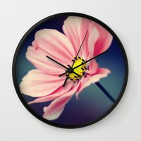 cosmos Wall Clocks featuring Cosmos by Lawson Images