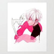 Mukade Art Print