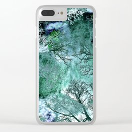 My Life in the Green Bush of Ghosts Clear iPhone Case