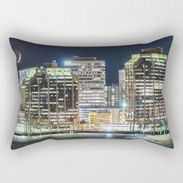 Haligonian Moonset Rectangular Pillow