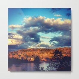Wisconsin River Metal Print