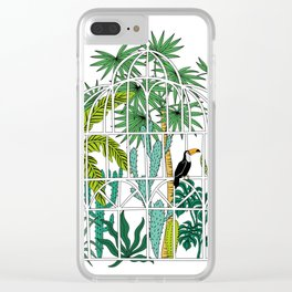 Royal greenhouse Clear iPhone Case