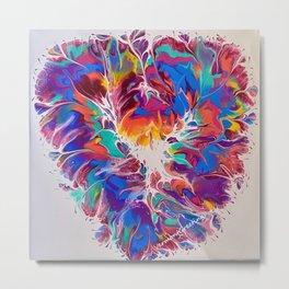 A Love Heart for all Seasons Metal Print