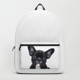 French bulldog portrait Backpack
