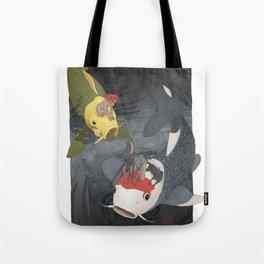 Nishikigoi Tote Bag
