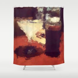 summertime and the livin is easy Shower Curtain