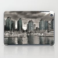 vancouver iPad Cases featuring Vancouver Waterfront by Anthony M. Davis