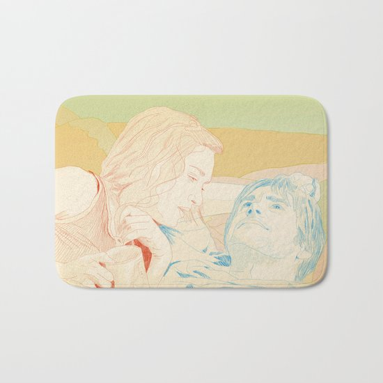 Eternal Sunshine of the Spotless Mind Bath Mat