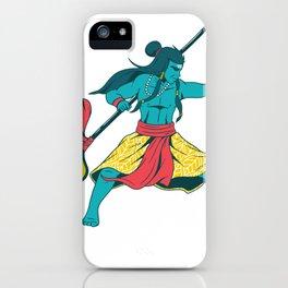 The god Shiva iPhone Case