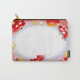 Japan Pattern Goldfish Carry-All Pouch