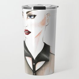 Edgy Gaze Travel Mug
