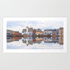 Millport Town Art Print