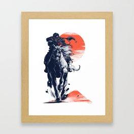 Demon Rider Framed Art Print