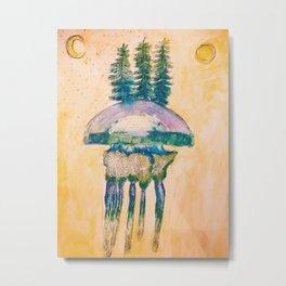 Jelly Nature Metal Print