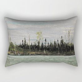 Tom Thomson - Mississagi - 1912 Rectangular Pillow