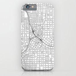 Vintage Atlanta Map iPhone Case