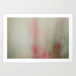 Stem Red Art Print