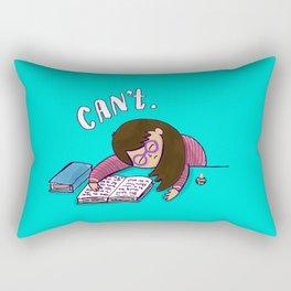 CANNOT. Rectangular Pillow