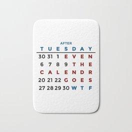 Calendar What The WTF Bath Mat