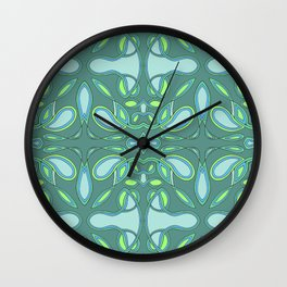 Pool Windows Wall Clock