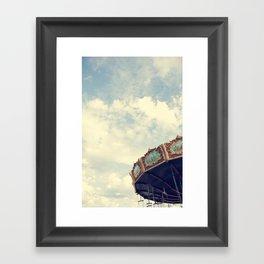 Swing Ride Framed Art Print