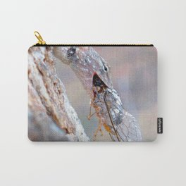 Watercolor Lizard Carry-All Pouch