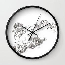 Sakura Kirin Wall Clock