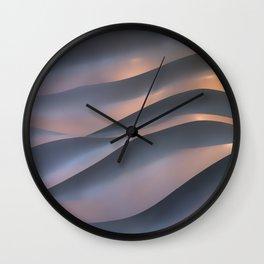 Wavy Texture Wall Clock
