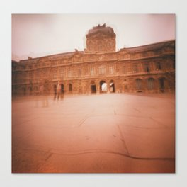 Wavy Louvre 2 Canvas Print