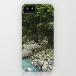 Hiking in France iPhone Case